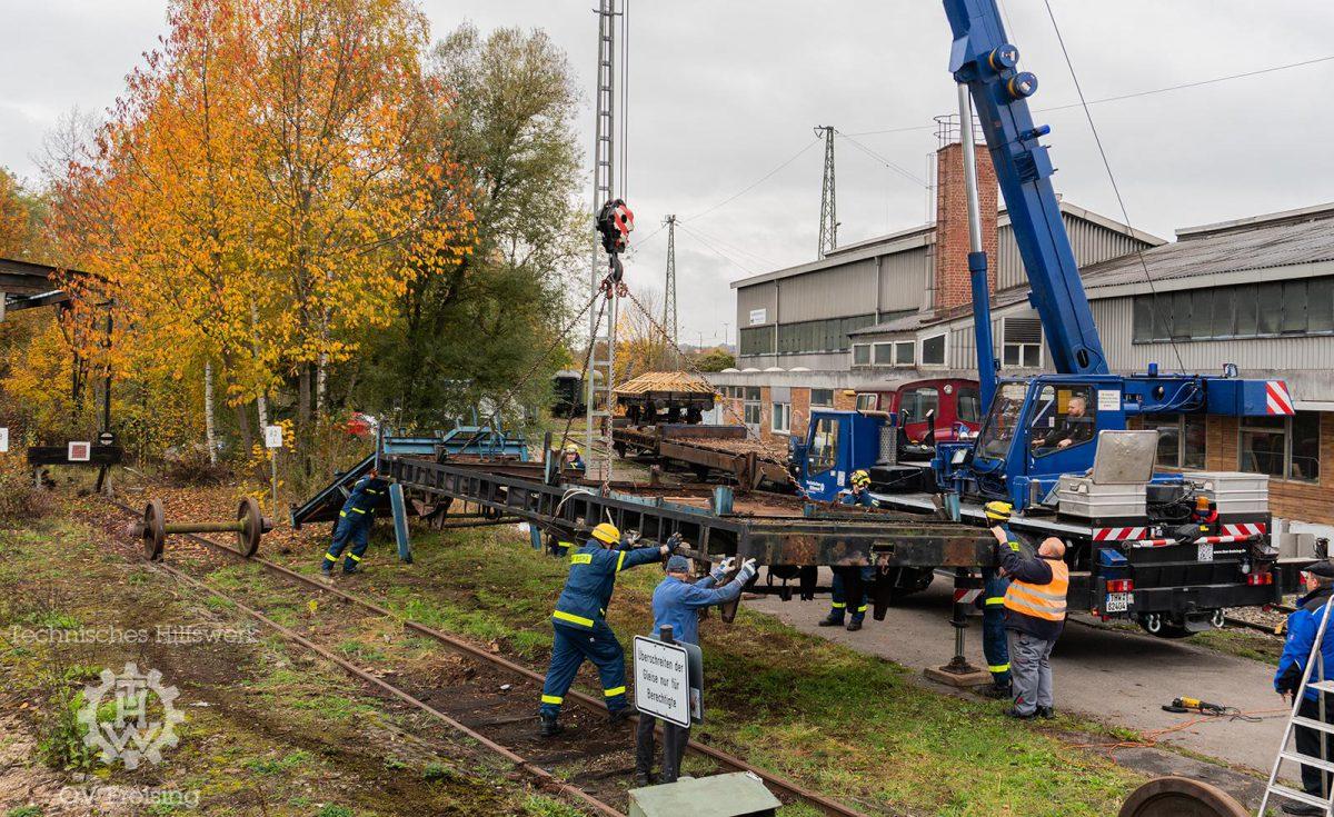 Unterstützung für den Localbahnverein Landshut