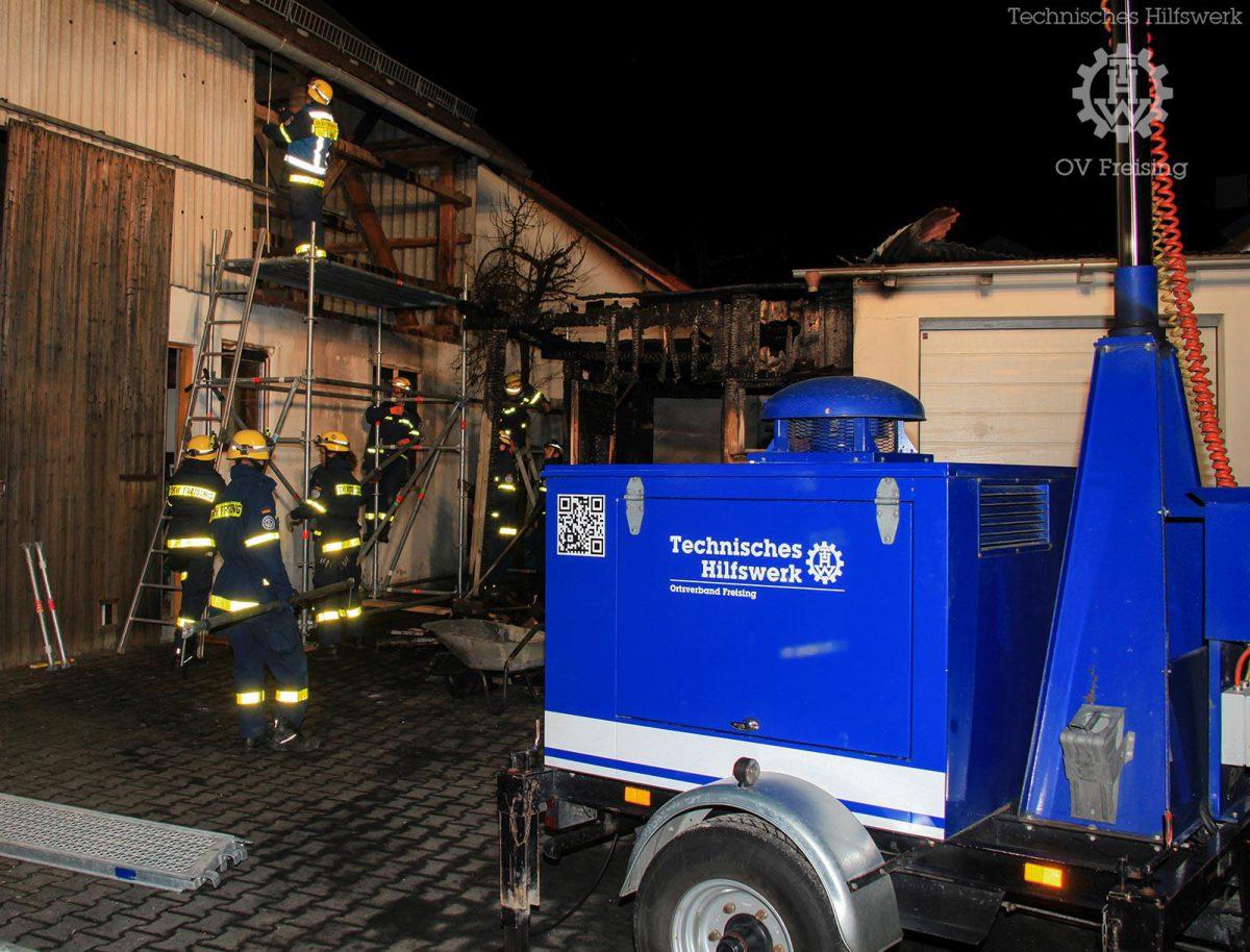 Eigentumssicherung nach Brand