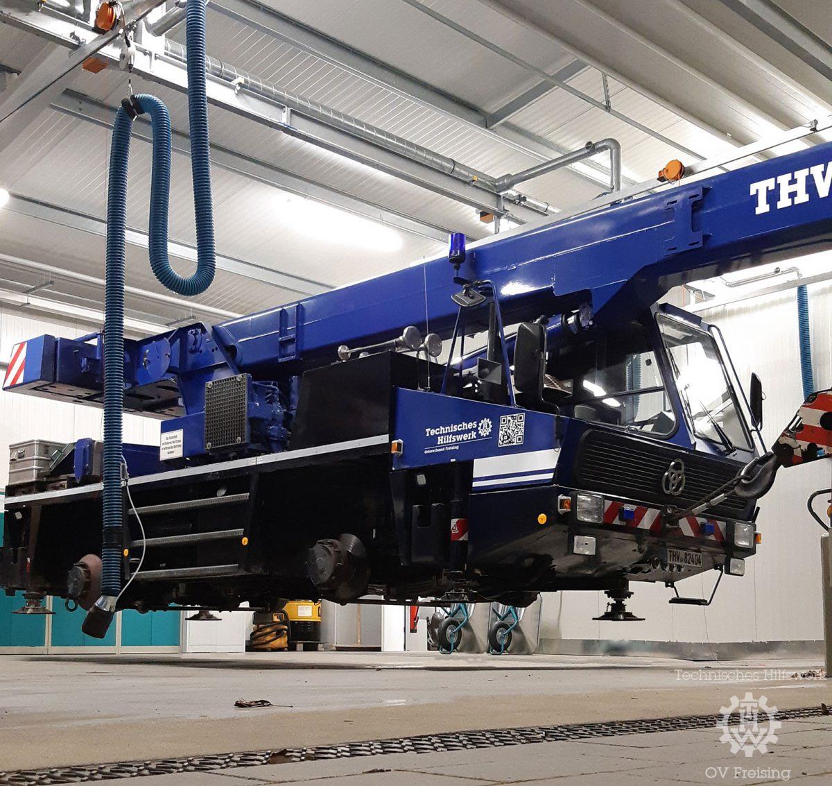 THW Freising testet neue Antriebskonzepte