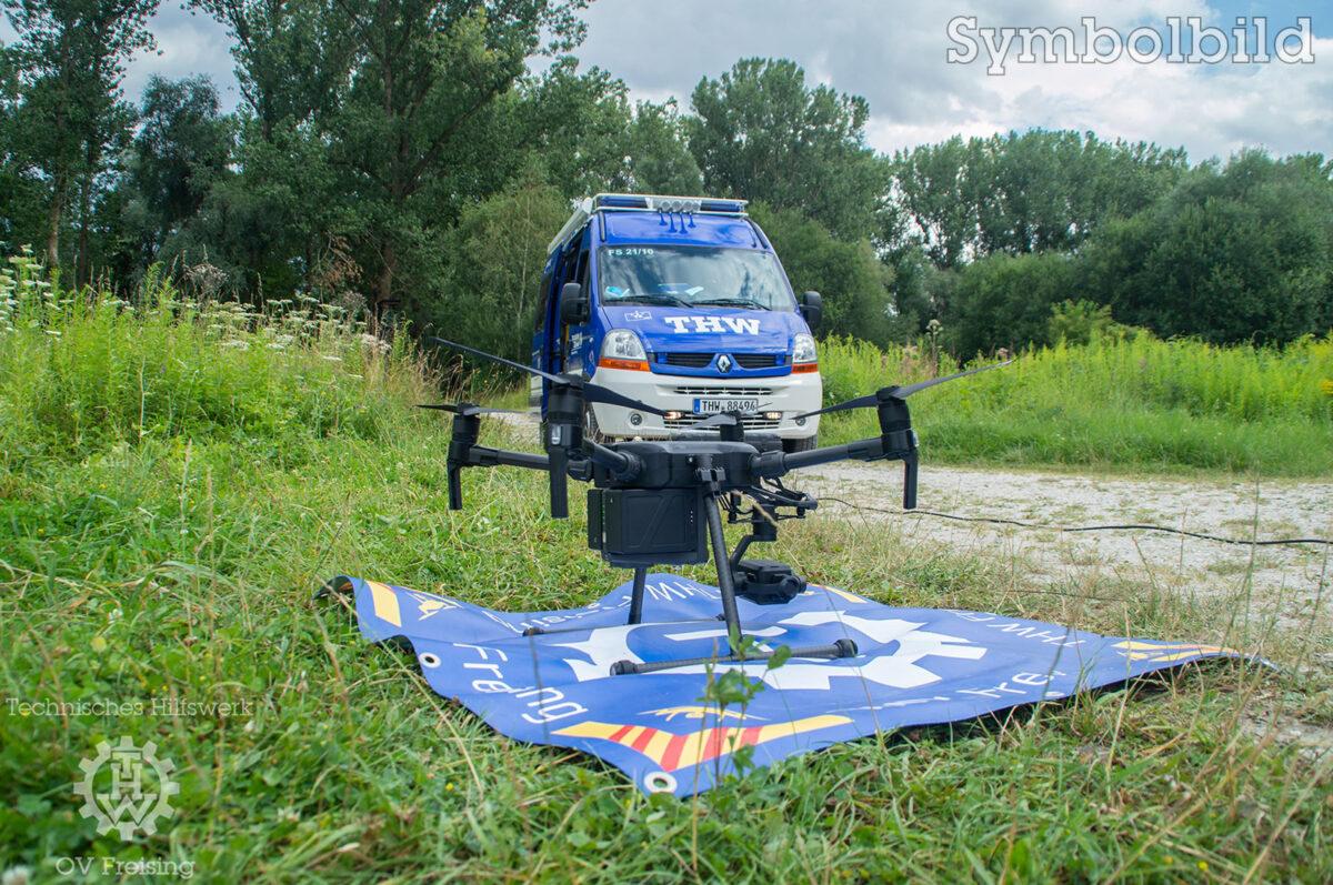 Drohnenunterstützung zur Vermisstensuche